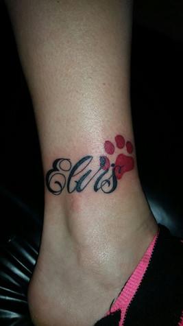 Schriftzug Tattoo