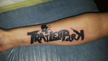 Schriftzug Tattoo Unterarm