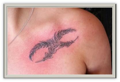 Unendlichkeitszeichen Tattoo