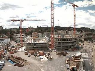FTTH für 160 Wohnungen im Aeschbachquartier (2.Baufeld)in Aarau