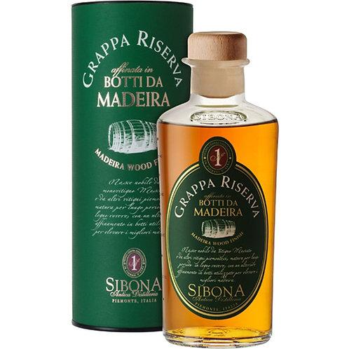Antica Distilleria Sibona, Grappa di Moscato Riserva Madeira Wood 44.0% 50cl