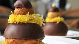 Confeiteiro ensina a usar fios de ovos em três sobremesas. O chef Fabrice Le Nud adaptou clássicos f