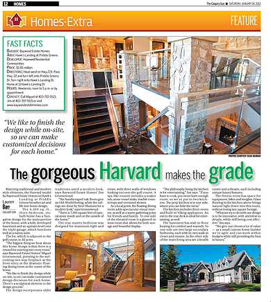Baywood Estate Homes The Calgary Sun