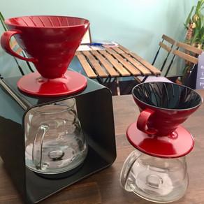 漆仕上げのコーヒードリッパー