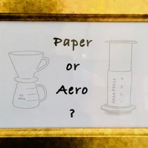 Paper or Aero ?