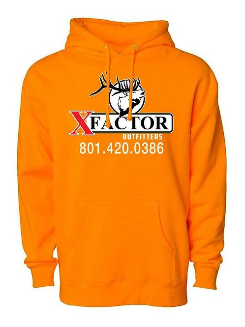 Mens/Womens XFO Hunters Orange Hooded Sweatshirt