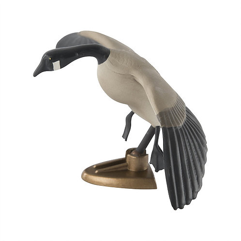BIG RACK Canada Goose in Flight Raxx Figurine