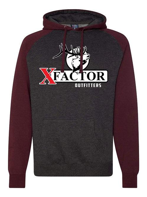 Mens/Womens XFO 2-Toned Hooded Sweatshirt