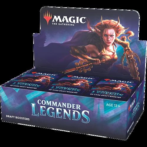Commander Legends Draft Booster Case(6 boxes)