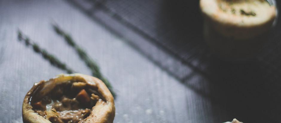 Mason Jar Pot Pies