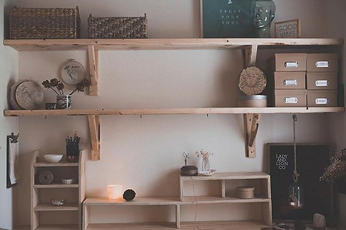 Desk top Storage Shelve Set
