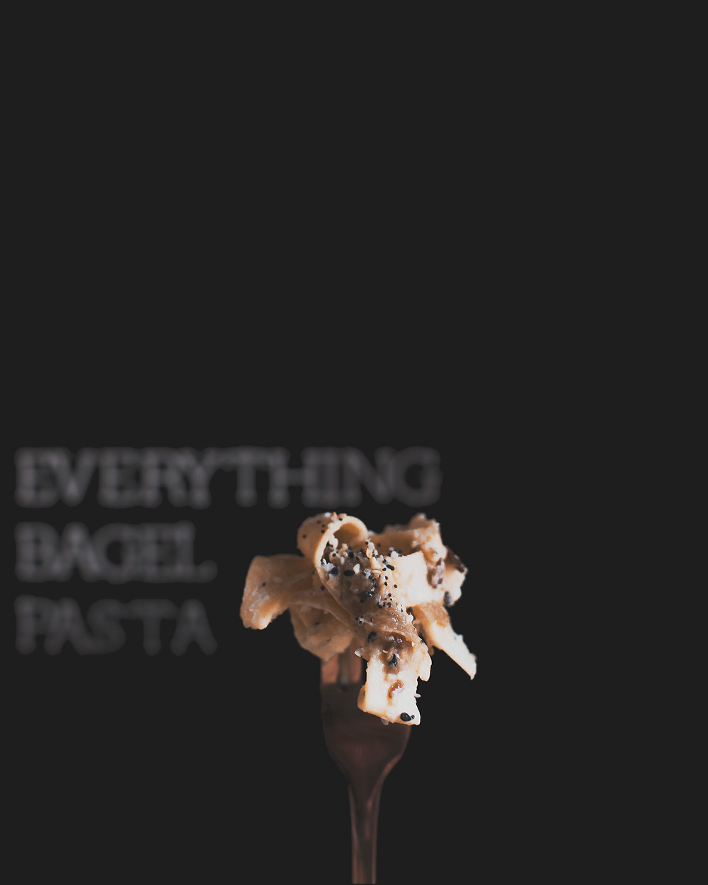 Everything Bagel Pasta Lady and  Lion Co. w/ Trader Joes