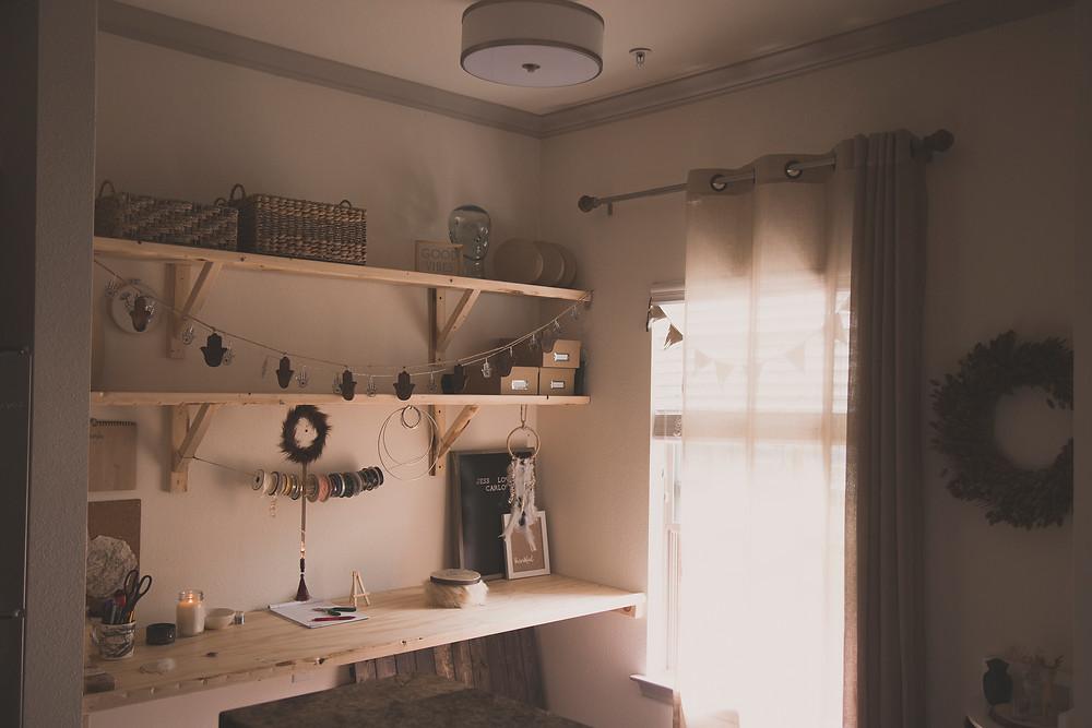 Lady and Lion Co Studio Corner