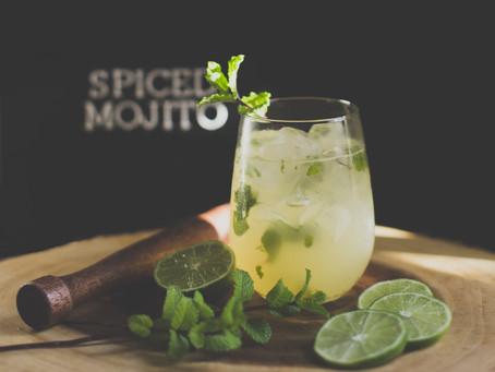 The Perfect Spiced Mojito