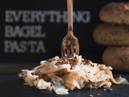 Everything Bagel Pasta