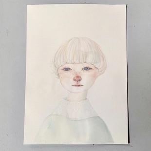 2019 紙 , 水彩 / paper, watercolor