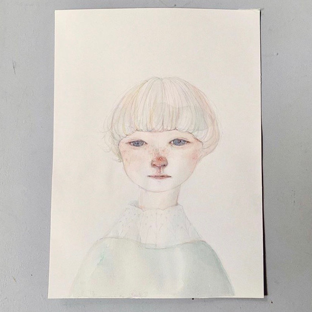 2019 紙 , 水彩 / paper, watercolor
