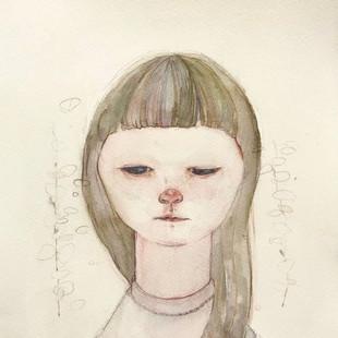 2017  紙、水彩 / paper, watercolor