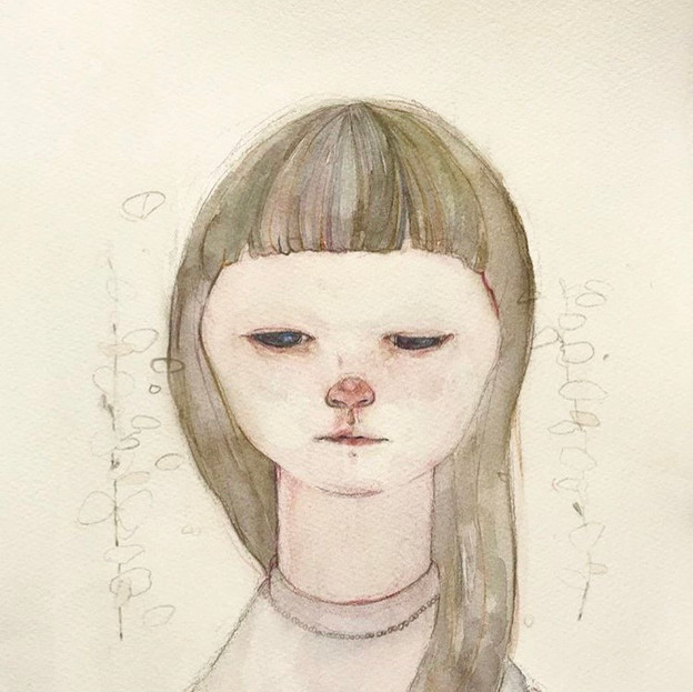 2017  紙、水彩 / paper, watercolor