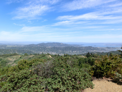 Riding around the famous Mt.Tam