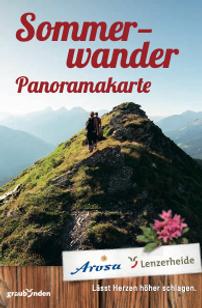Sommerwander Panoramakarte