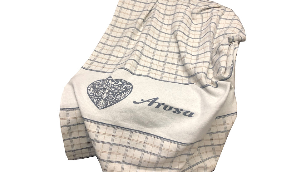 Arosa plaid heart 150cm x 200cm