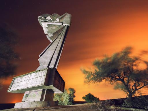Monumentul Tineretului, Straja, Romania.