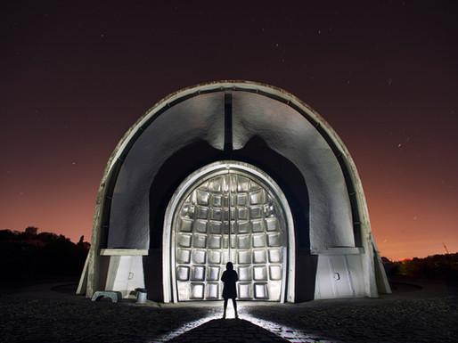 Kyiv Crematorium, Ukraine.