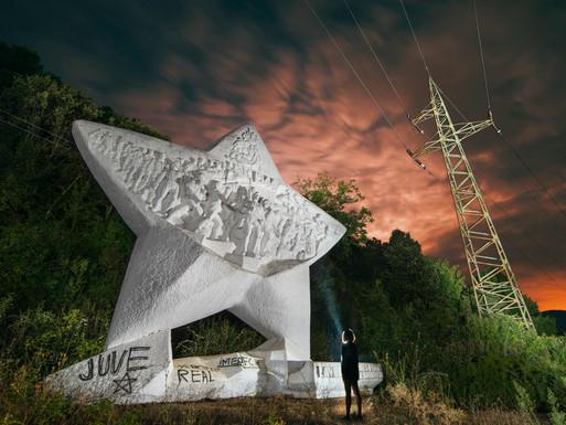 Qukës-Pishkash Star Monument, Albania.