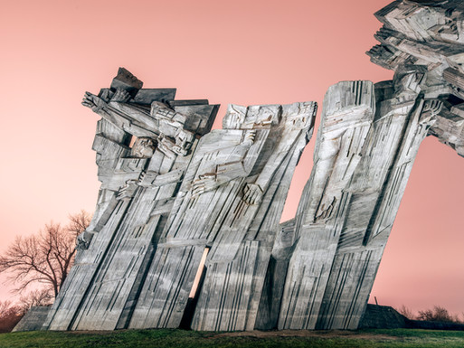 9th fort and monument, Kaunas, Lithuania.