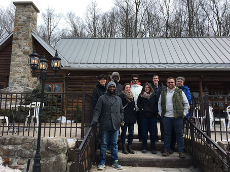 The Group Ventures to the Sugar Shack!