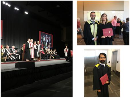 Congratulations to our recent graduates!