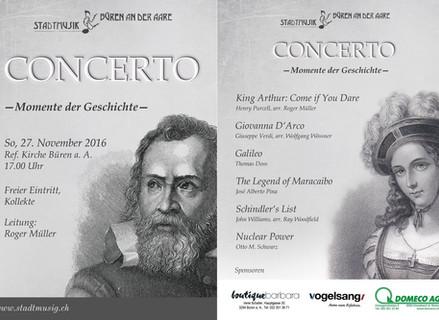 Concerto – Momente der Geschichte