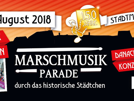 Abgesagt - Marschmusikparade / Konzert der History Swingers