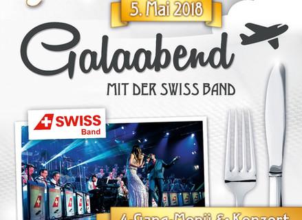 Galaabend mit der Swiss Band