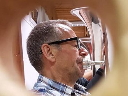 Paul Messerli, 50 Jahre Musikant und Vereinsmitglied mit Leib und Seele