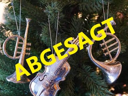 Concerto abgesagt