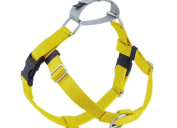 Yellow 1″ Only Freedom No-Pull Dog Harness