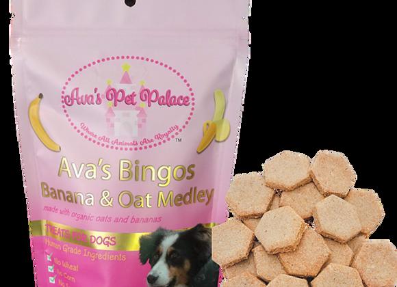 Ava's Bingos - Oat & Banana Medley