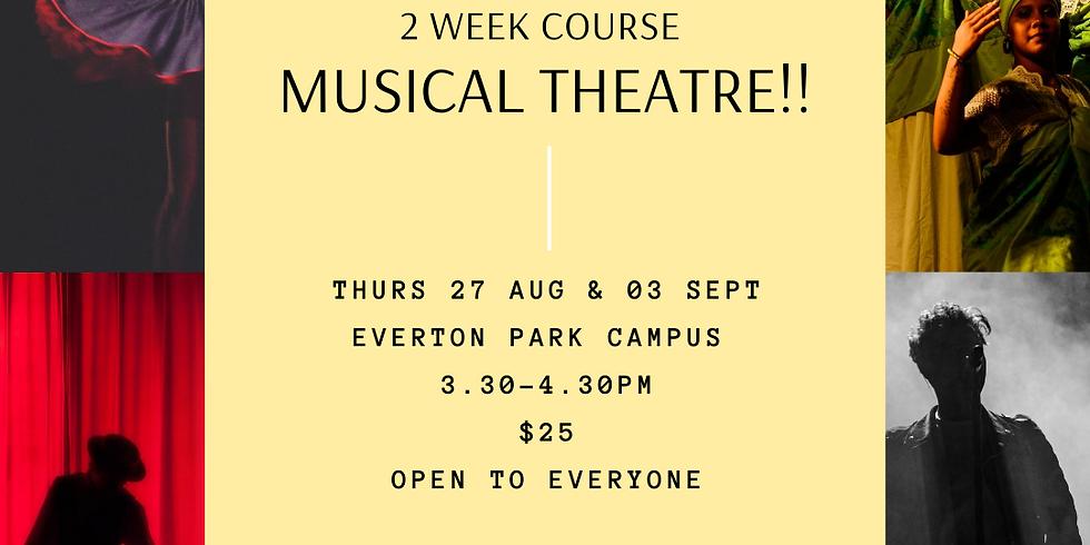 Musical Theatre 2wk Course