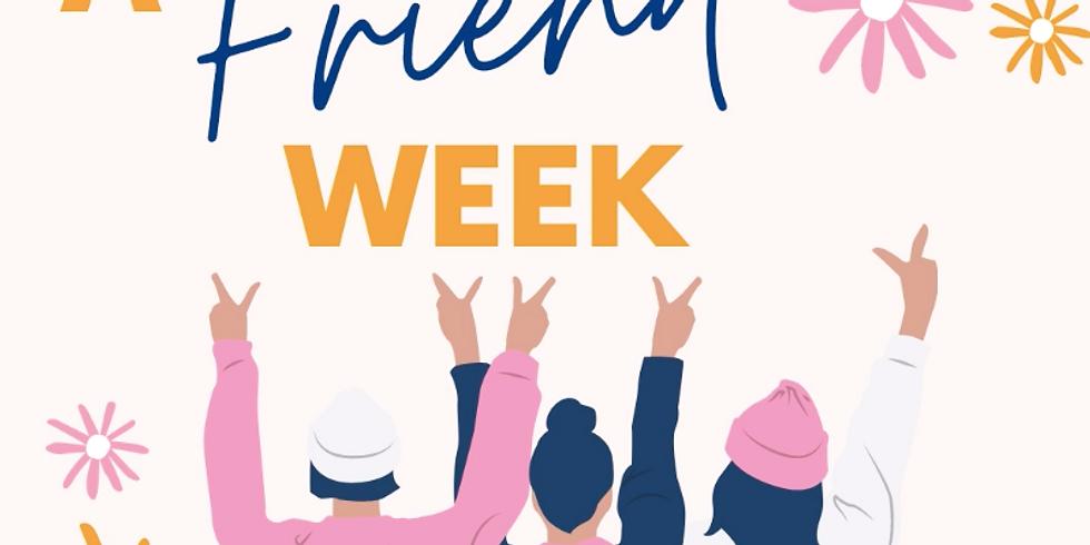 Bring a Friend Week - 29/03-01/04 (1)