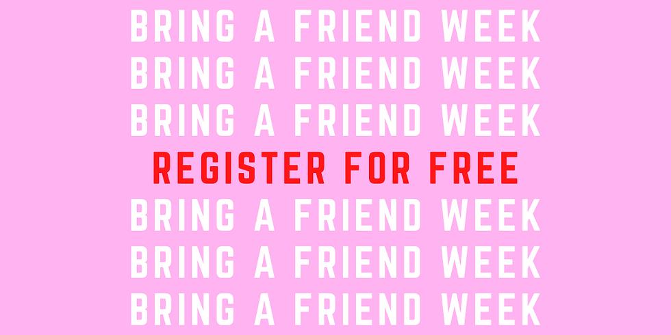 Term 2 - Bring a Friend Week - 21/6-24/6