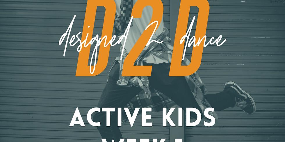 Active Kids Week 1