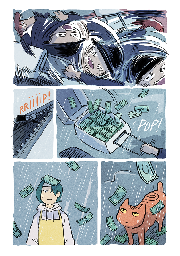 The Crosswind Cafe Page 21