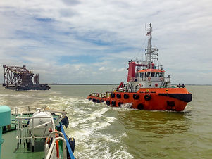Tugboat Towage boat and ship delivery services
