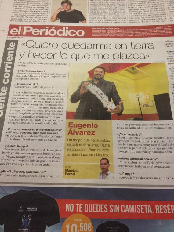 Contraportada del Periódico de Catalunya