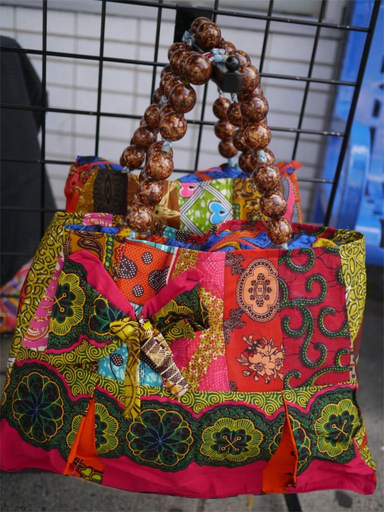 See what I mean about colorful bags? Handmade in Ghana and imported by Gladberry's of Ghana