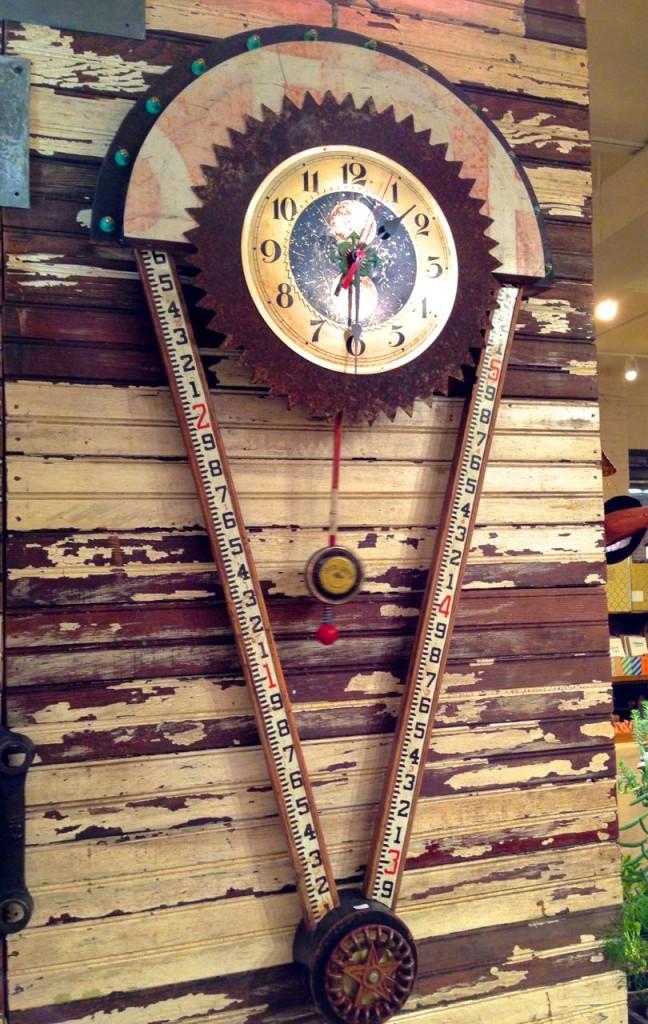Wonderful Handmade Grandfather Clock from Junk Lab