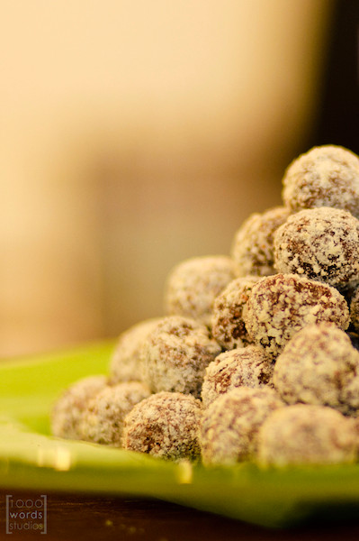 Bittersweet NYC Coconut Truffles