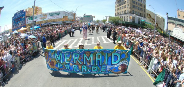The Mermaid Parade (Photo by Norman Blake)